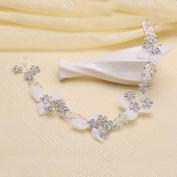 Bride headdress crystal diamond diamond crown wedding dress accessories crown