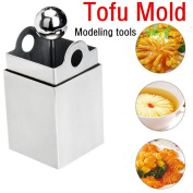 Stainless Steel Tofu Shred Mould,TigerTrading Tofu Maker Press Mould Kit Modelling Tools Pressing Mould Creative Kitchen Tool Delicious