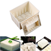 WCIC Tofu Maker Press Mould Kit DIY Soy Pressing Mould Kitchen Tool with Cheese Cloth