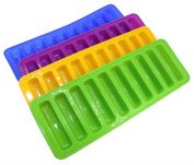 LIUZHI Silicone Ice Cube Tray Mould Ice Mould Fits For Water Bottle Ice Cream Markers Tools