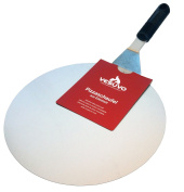 Vesuvo Pizza Server Stainless Steel – 30 cm Diameter – High quality – Precious Metal