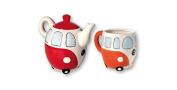 Dakota - Teapot with Cup Van Retro 18 cm - 30620DK