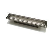 Richelieu Hardware BP702396342 Centre To Centre Transitional Metal Handle Pull, 9.6cm , Western Pewter