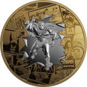 ALL STAR COMICS DC Comics Originals 90ml Silver Coin 50$ Canada 2017