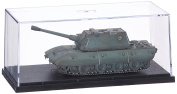 Modelcollect AS72067 Ready Made Model German Germany WWII German Turret E100 with Krupp Grey 1946, Grey Colour