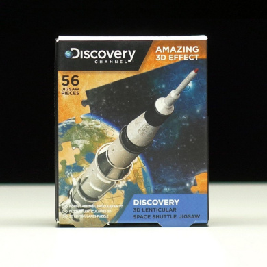 Discovery Channel 3D Lenticular Jigsaws Space Shuttle
