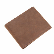 Leather man wallet _ leather wallet vintage wallet leather casual bag, 1x1.5x 5cm