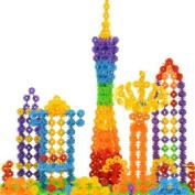 Fhouses 118pcs Children Kids Toys Gift Building CThetstructiThet PlThestics Puzzle Toy New