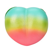 Stress Reliever Toy Muium Rainbow Honey Peach Cream Scented Squishy Slow Rising Squeeze Decompression Toys For Kids & Adults