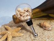 Stunning Beach Theme Seashell Bottle Stopper