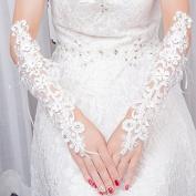 ZLYAYA gloves,Wedding dress length of the gloves bridal dress wedding gloves linked to the fashion section wedding wedding gloves