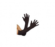 Fengh Bridal Wedding Gloves Long Anti-UV Gloves -Black