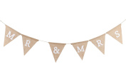 Mr. And Mrs.' Hessian Bunting