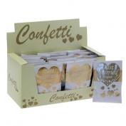 Gold And Ivory Bio Confetti Bags