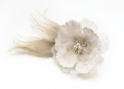 Burlap Hair Clip Decoration