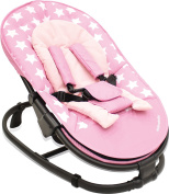 Asalvo Stars Baby Bouncer, Pink