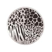 NXDWJ YZWLE Metal Plate Template for Stamping Nail Patterns Decor Nail Art, Vol.2