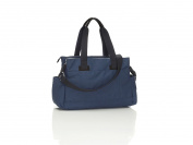 Storksak Travel Navy Blue Shoulder Changing Bag