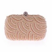 Tassel Shoulder Messenger Bag Fashion Bag Shoulder Bag Fashion Package , champagne