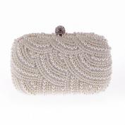 Tassel Shoulder Messenger Bag Fashion Bag Shoulder Bag Fashion Package , pearl white