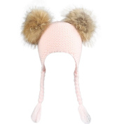 Covermason Cute Baby Kids Newborn Hats Winter Knitted Hat Cap With Pom