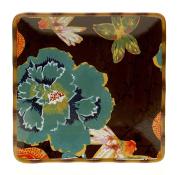 Tracy Porter 42611 Poetic Wanderlust 37cm Eden Ranch Square Platter, Multicolor