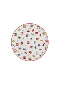 Hutschenreuther Christmas Memories 40 Years with Ole Winther/Porcelain Dinner Plate, Multi-Colour, 22 x 23 x 3 cm