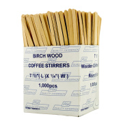 Robinson Young Wooden Coffee Stirrers 18cm - Pack Size = 10x1000
