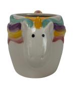 Boston Warehouse 59612 Mug, Unicorn Collection, 530ml Capacity, Hand Painted Ceramic