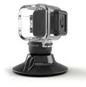 Polaroid Suction Cup Mount for the Polaroid CUBE, CUBE+ HD Action Lifestyle Camera – Includes Waterproof Case