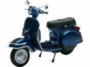 Scooter Vespa figure MINI 1978 dark BLUE Scale 1:12