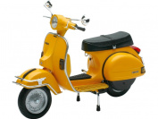 Scooter Vespa figure MINI 1978 YELLOW Scale 1:12