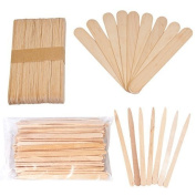 JMT Beauty Assorted Wax Applicators, 200 Extra Small and 200 Large Spatulas by JMT Beauty