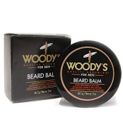 WOODY'S Quality Grooming For Men Beard Balm 60ml/ 56.7 grms Conditioner & Style Wax by Woody's