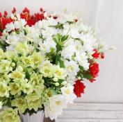 artificial flower - Globeflower Red