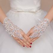 Ajunr-Gloves Bridal Lace Short Big Size Wedding Wedding Dresses Wedding Dresses Accessories