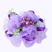 Ajunr-Gloves Bridal Wedding Wrist Flower Bridesmaid Wedding Aestheticism Sisters Group Hand Flower