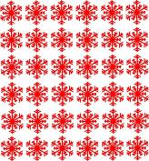 36 x Snowflakes vinyl stickers Christmas Stickers Glass Xmas Childrens Novelty