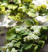 artificial flower - Fruiting twig White