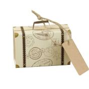 Sunsline Creative Travel Mini Suitcase Wedding Party Paper Candy Box