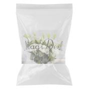 MagiDeal 6pcs White Silk Faux Flower Wedding Decorations Bouquet Home DIY Crafts