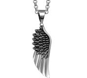 Xinmaoyuan Retro Personality Feather Pendant Men Titanium Steel Pendant Wild Necklace Jewellery Personalised Jewellery Birthday Gift