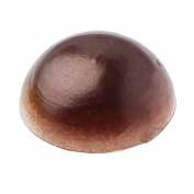 Santex 60x Self-Adhesive Half Beads 7 mm Brown