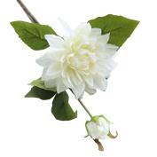 Pretty Bridal Bouquet,Fake Silk Flower Leaf Artificial Home Wedding Decor Bridal Bouquet MML