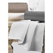 Towels honeycomb Luxury 350 gr - 9 colours - Shower towel 100x150, white