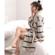 GFEI A couple of warm pyjamas Gown / long sleeved Robe,xl,b