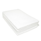 LinenTablecloth Hotel Selection Hand Towel White 4/Pack