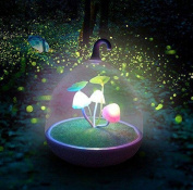 REDOI Portable Night Light Dimmable Mushroom LED Sensor Touch Night Light Low Power Child Luminous Baby Child Adult