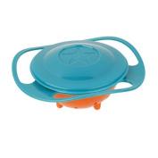 COFCO Nat Spill Feeding Toddler Gyro Bowl 360 Rotating Kids Avoid Food Spilling