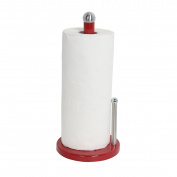 Home Basics PH44100 Paper Towel Holder, Red